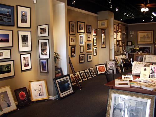 Art Gallery featuring local artists