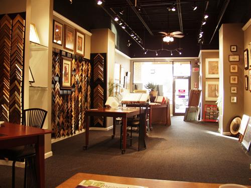 Vast selection of frames and mats