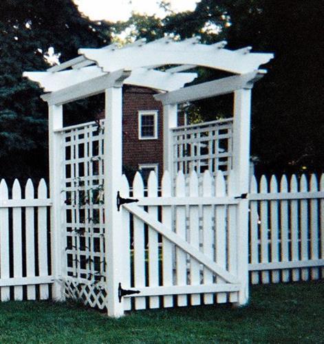 Design/Build Exterior Garden Entrance