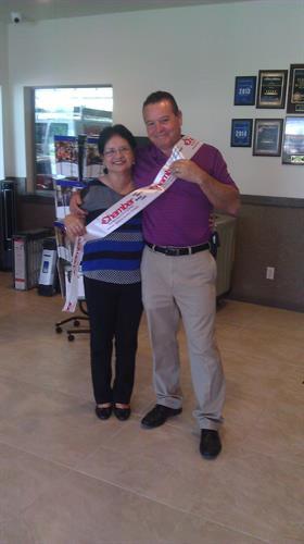 Owners Adriel Villarreal & Elva Villarreal