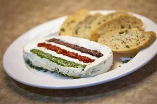 Colletti's FAMOUS Goat Cheese Terrine