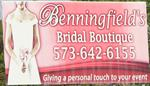 Benningfield's Bridal Boutique