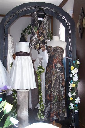 Camo Bridal Wear