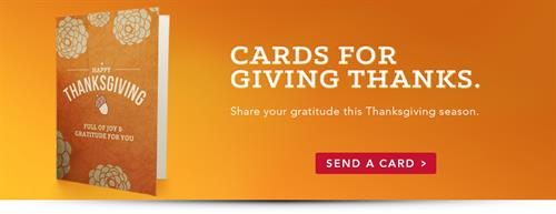 Cards for Giving Thanks