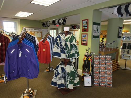 Shattuck Pro Shop has a wonderful selection