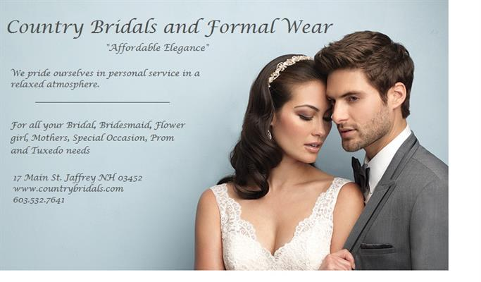 Country Bridals & Formal Wear