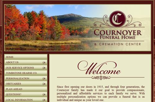 We were one of the first 7 funeral homes in New Hampshire to have a presence on the web