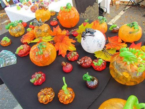 Octoberfestival pumpkins