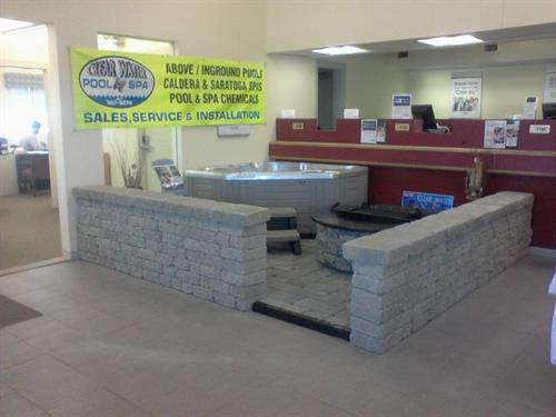 2012 Buiness of the Month Clear Water Pool and Spa