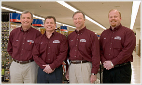 Jack Belletete, President; Michael Shea, Vice President; David Belletete, Sales Manager; Matt Shea, Manager - Peterborough
