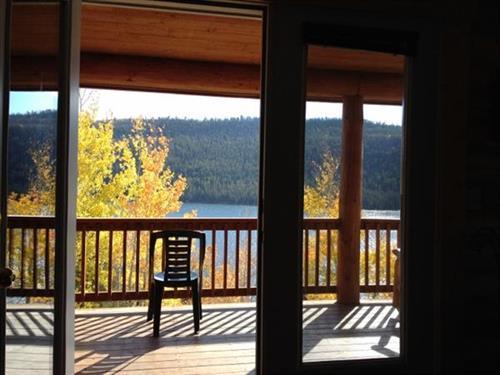 Half Moon Lake Lodge - Lake Views From Cabins