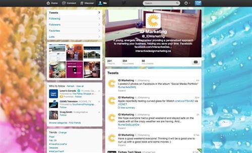 Interactive Design & Marketing Social Media - setup, implementation, maintenance