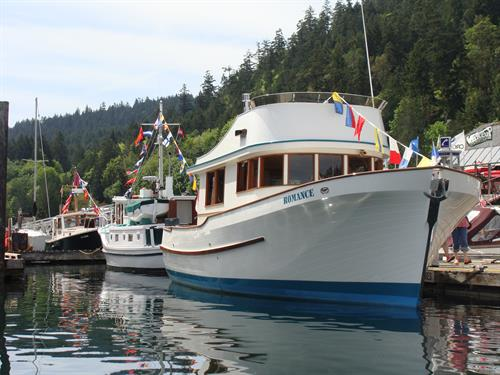 Annual Wooden Boat Festival - May long weekend