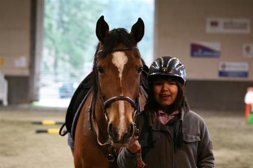 Participants experience an incredible bond with their horse