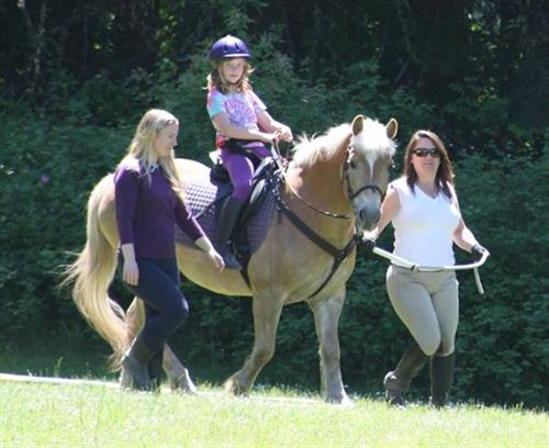 Therapeutic riding is powerful therapy - in disguise!