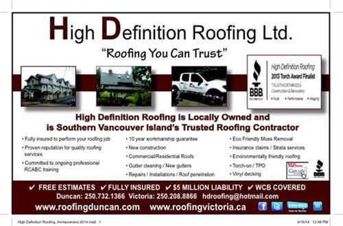 Roofing Duncan