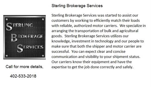 Sterling Brokerage Services
