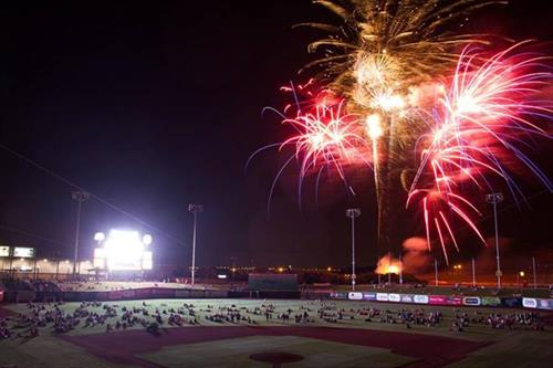 Fireworks Night every Friday, and select Saturday's and Sunday's!