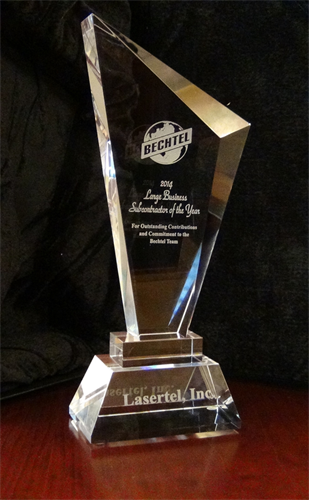 2014 Bechtel Large Subcontractor of the Year Award