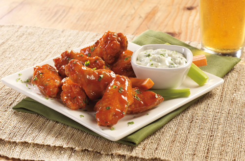 Try our Famous Wings 2 Ways - Crispy Fried or Oven Roasted!