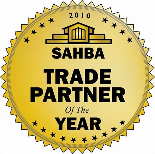 2010 SAHBA trade partner of the year