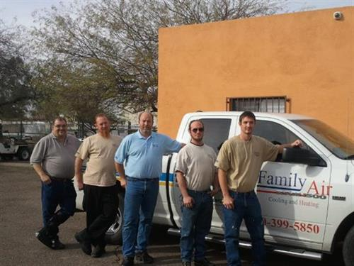Bill (sales) Charlie (service manager) Jim (owner) Harley (installer) James (installer)