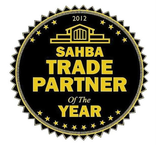 2012 SAHBA trade partner of the year