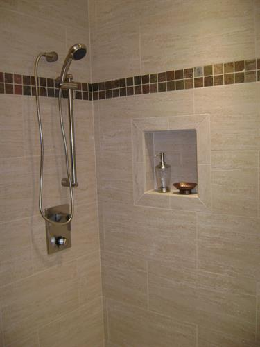 Tile Shower