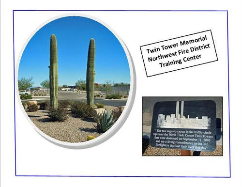 Marana Twin Tower Memorial