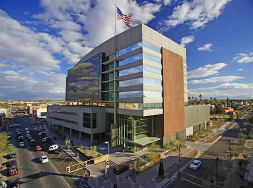 TEP's Headquarters building in downtown Tucson.