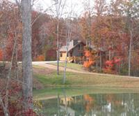 Rental cabin on the river and pond