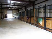 Stalls in the stables