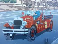 La Verne Fire Station Mural
