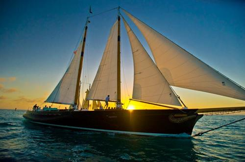 America 2.0 Sunset Sailing in Key West!