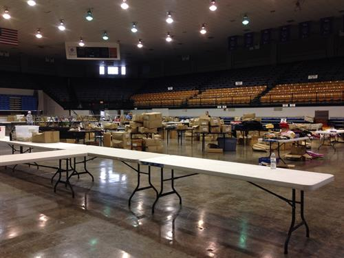Rummage, First Saturday in November, annually