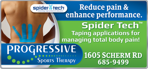 Spider Tech Taping Applications