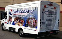 Wrap sides of bus - Audubon Area