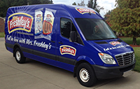 Full Van wrap - Marketing Group