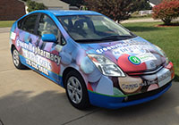 full car wrap for pharmacy