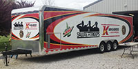 Full Trailer wrap for Marketing group
