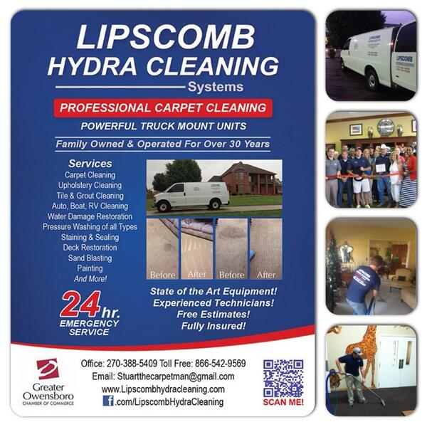 Lipscomb Hydra Cleaning Systems / Professional Carpet Cleaning