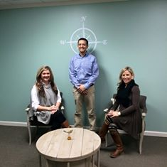 Meet Charisse Gough, Brent Garrard, and Lindsey Lanham, our Licensed Professional Clinical Counselors.