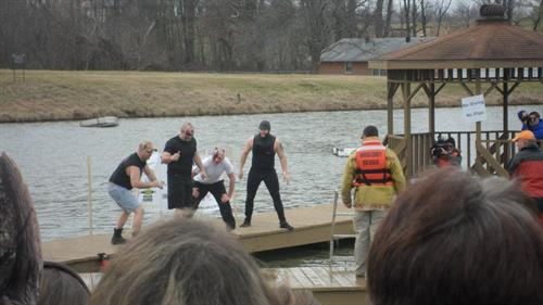 FOP 16 in the Polar Bear Plunge