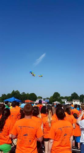 Balloon Release at 2015 Autism Awareness Walk