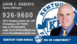 kentucky farm bureau insurance gavin c roberts. Black Bedroom Furniture Sets. Home Design Ideas