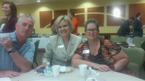 Robin representing Team District 38 at the Wesley Chapel Chamber meeting this morning 2015