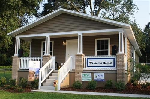 Habitat Home in Dade City