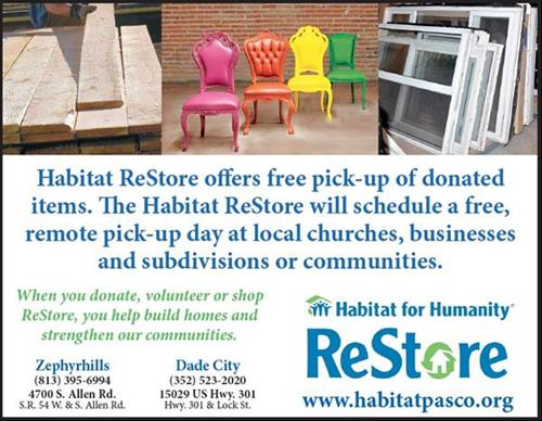 Habitat ReStore, discount home improvement items