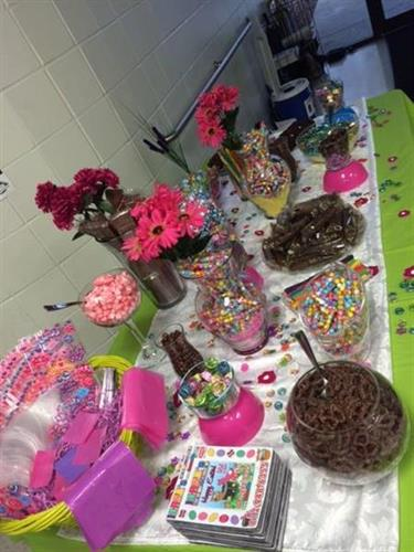 Candy Table @ Women Celebrating Women