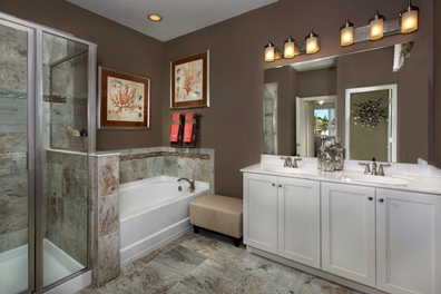 The Woodlands Model - Plan 2293 Master Bathroom